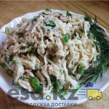 Салат с курицей и корнем сельдерея рецепт с